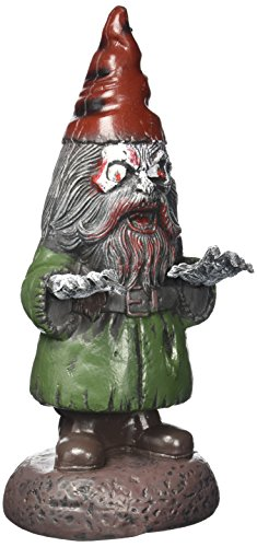 Light-Up Zombie Garden Gnome Prop (Lawn Gnome Costume)