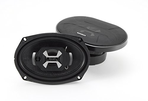 Hifonics HS693 Hercules 3-Way Car Speaker, 60-Watt 6 x 9-Inch - Surface Mount 3 Way Speakers