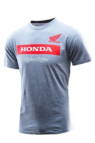 Troy Lee Designs Herren Blusen T-Shirt Grau Grau