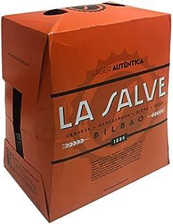La Salve Auténtica Cerveza - Paquete de 6 x 250 ml - Total: 1500 ml
