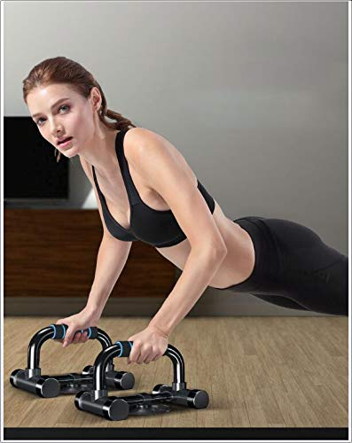 SVNA Push Ups Bars,Non-Slip Push Rod with Comfortable Foam Handle Stabilizing Suction Cup 120kg Load-Bearing for Upper Body Exercise by SVNA (Image #7)