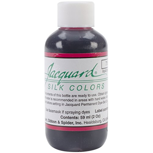 Jacquard Products Jacquard Silk Colors Dyes, 2-Ounce, Magenta