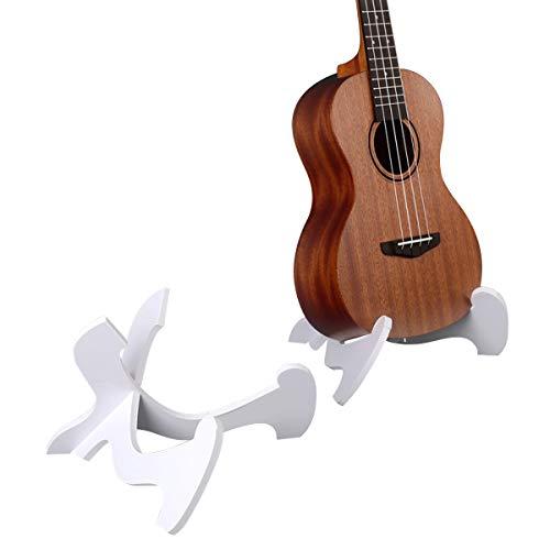 Blueseason Ukulele Stand?X Shaped Folding Portable Stand?PVC Chevron Board Instrument Stand for Ukulele?Violin and Mandolin