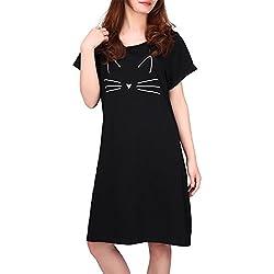 HDE Women's Sleep Shirt Dress And Nightgown