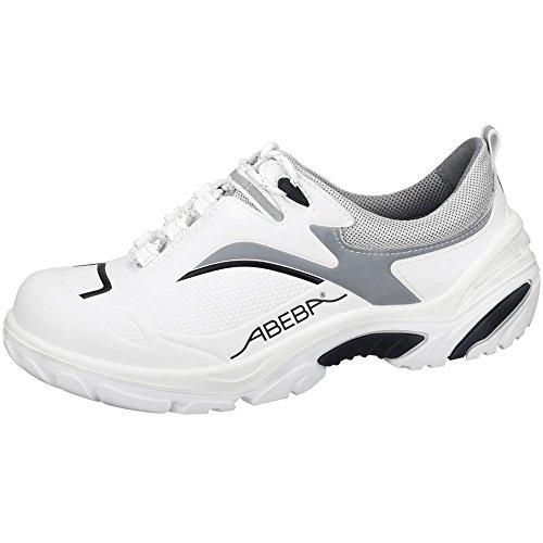 Abeba 4504-48 Crawler Chaussures de sécurité bas Taille 48 Blanc/Noir