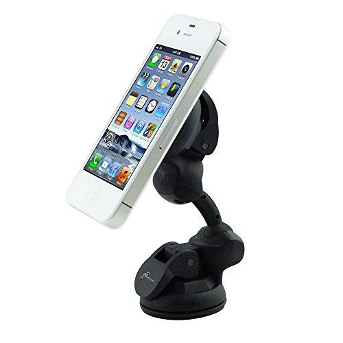 Mediasonic DualMAS 360 Universal Mounting Device, Universal Windshield Dashboard Car Mount Holder, Desk Mount Holder for Smartphone / Tablet / iPhone / iPad / Samsung Galaxy