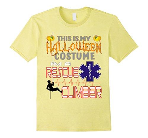 Mens Halloween Costume Rescue Climber Shirt XL (Climber Halloween Costume)