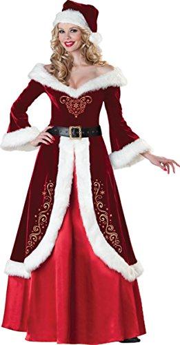 Mrs St Nick Costumes Plus Size - InCharacter Mrs St Nick Small