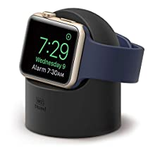 Apple Watch Stand, elago W2 Charging Stand [Rose Gold] - [Premium Aluminum][Cable Management][Scratch-Free] - for Apple Watch Series 1, 2, and 3