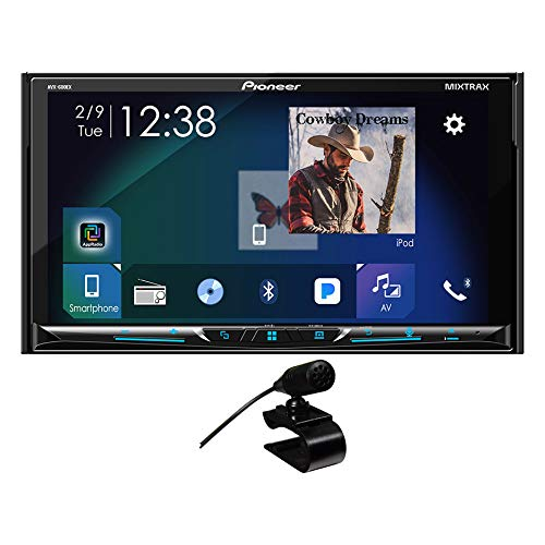 """Pioneer AVH-600EX in-Dash Receiver DVD Receiver w/ 7"""" WVGA Display, Bluetooth, SiriusXM Ready and AppRadio from PIONEER"""