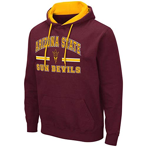 Colosseum Arizona State Sun Devils Comic Book Hoodie - Maroon - Men - 3XL from Colosseum