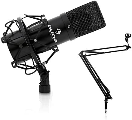 Auna Studio micrófono w/juego de mesa micrófono Boom brazo soporte: Amazon.es: Electrónica