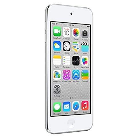 Apple iPod touch 16GB (5th Generation) NEWEST MODEL - Silver (Certified Refurbished) (16 Gb Ipod 5th Generation)