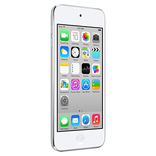 Apple iPod touch 16GB (5th Generation) NEWEST MODEL - Silver (Renewed) ()