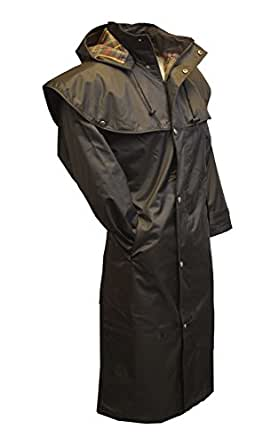 Walker & Hawkes - Outdoor Midland Caped Jacket with