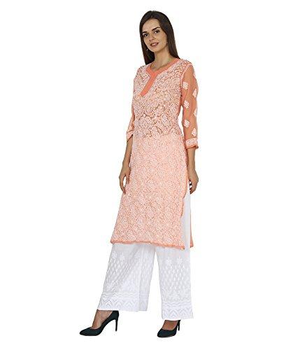 Indiankala4u Melocotón Vestido Vestido Para Melocotón Mujer Para Mujer Indiankala4u Indiankala4u qz6wXRA