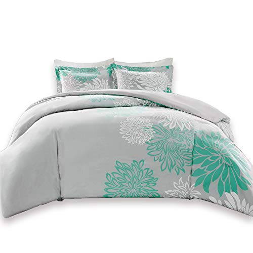 Comfort Spaces Duvet Cover Full/Queen Size - Enya Gray and A