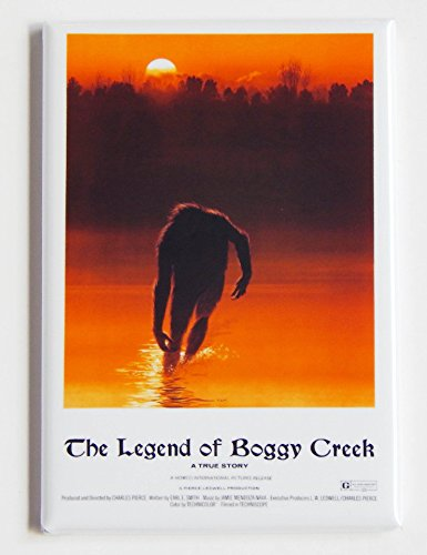 Legend of Boggy Creek Movie Poster Fridge Magnet
