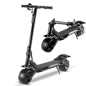 Monopattino Elettrico Ripiegabile, 20Km di Autonomia, velocità Massima 25km/h,Motore 500W,Scooter per Adulti,Unisex Adulto, Black