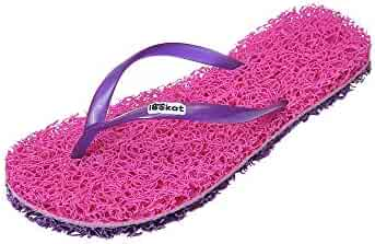 fc7233689bd5 Lookat Sandals Flip Flops Massage Foot Scrub Exfoliating Stress Relief  Slippers Aurora Collection