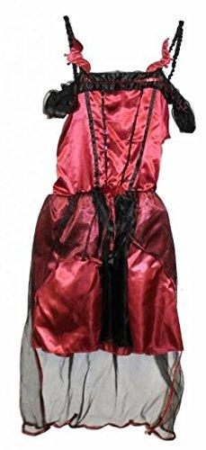 Fancy Dress Halloween Tesco (Girls Tesco Teen Gothic Vampires Costume Kids Halloween Fancy Dress Party)