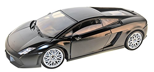 LP560-4 Coupe Matt Schwarz 2003-2013 1/18 Motormax Modell Auto (2009 Lamborghini Gallardo Lp560 4)