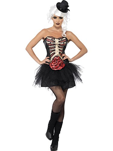 [Smiffys Women's Grotesque Burlesque Costume] (Cat N The Hat Costumes)