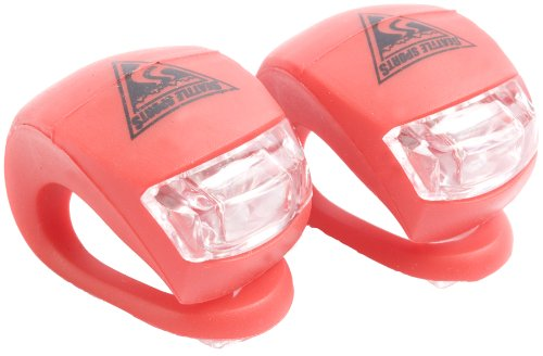 Seattle Sports Blazer Bike Light Pair (Red, 1.5 x 1 x 1.6-Inch)