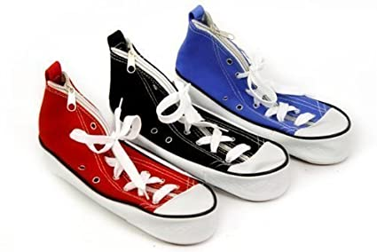 0b86b3278ff Image Unavailable. Image not available for. Colour  Blue Retro Trainer  Converse Pencil Case Home School College Office