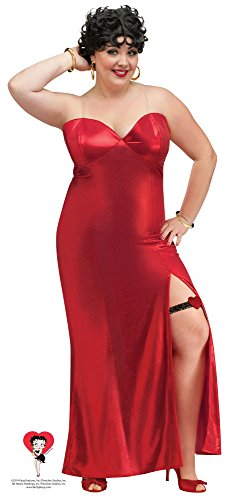 Betty Boop Adult Costume - Long Gown (Plus)