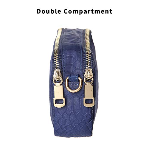Purse for Shoulder Bag Bags Wallet Blue Crossbody Cell Small TENXITER Waterproof Phone Women 4q1RzwaSW