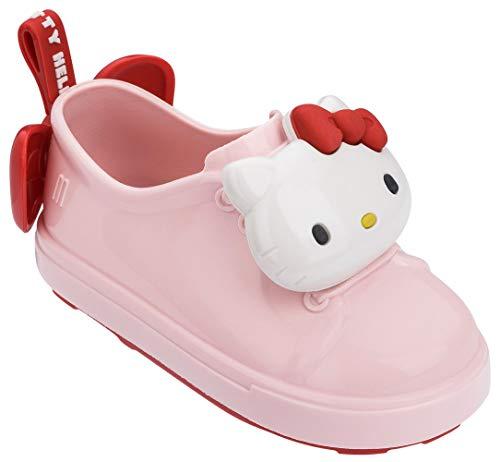 Mini Melissa Be+ Hello Kitty Pink Kids Girls Sneakers Size 12M