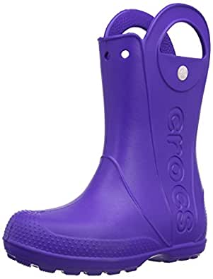 crocs Kids Handle It Rain Boot (Toddler/Little Kid),Ultraviolet,6 M US Toddler