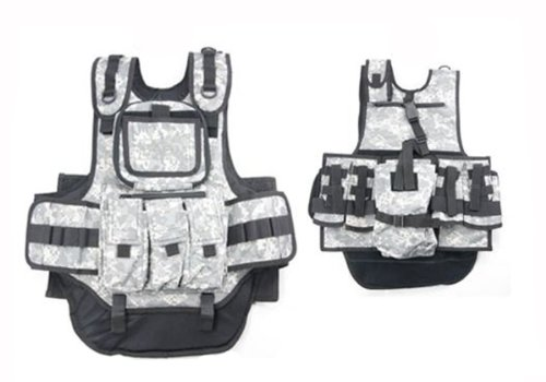 Counterstrike Paintball Vest (ACU) - paintball chest protector