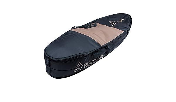 Revolwe Bolsa híbrida para tabla de surf, Black/Brown Hemp, 63: Amazon.es: Deportes y aire libre