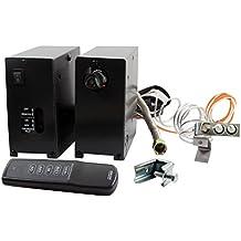Skytech Manual Hi/Lo Split Spark to Pilot Gas Valve Kit (AFVK-SP-MH-L-SPLIT), On/Off/Hi/Lo Remote
