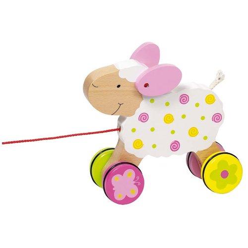 Goki - 2041429 - Jouet À Tirer - Mouton Suse - Susibelle Kollektion