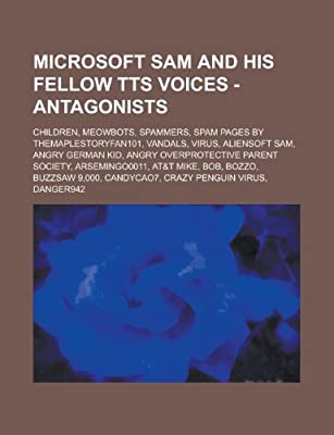 Microsoft Sam and his Fellow TTS Voices - Antagonists