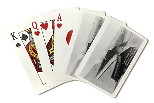 - San Luis Obispo, California - Daylight Train on Horseshoe Curve (Playing Card Deck - 52 Card Poker Size with Jokers)