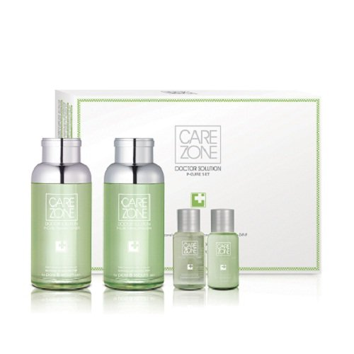 Korean Cosmetics_LG Carezone Doctor Solution P-Cure Tuning 2pc Gift Set
