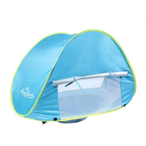 Product Feature. UV Protection 50.  sc 1 st  eBay & Baby Beach Tent Pop Up Playing Fun Portable Shade UV Protection ...