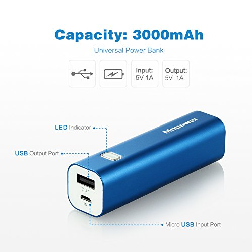 Amazon Portable Chargermopower 3000mah Power Bank Lipstick