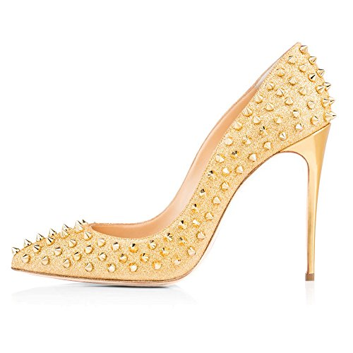 Party High 3 Toe Wedding Heel Onlymaker Dress Women's Sandals Pumps Women Pointed Shoes For Court yellow a6SHnS