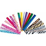 Fun Express Slap Bracelet Assortment - 50 Pieces