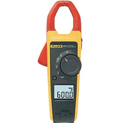 Image of Fluke 375 True-RMS AC/DC Clamp Meter Home Improvements