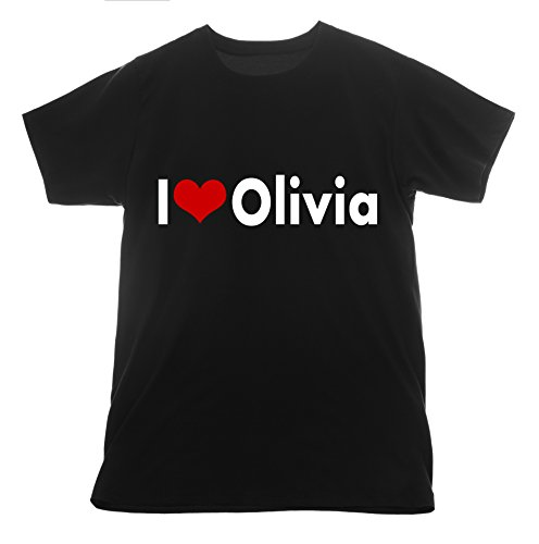 Olivia I love olivia holt t shirt I love Clothing Basic Tee T-shirt Heart Flock Vinyl - Holts Olivia