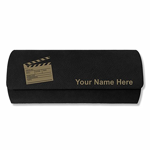 Eyeglass Case - Movie Clapperboard - Personalized Engraving Included - Sunglasses Clapper