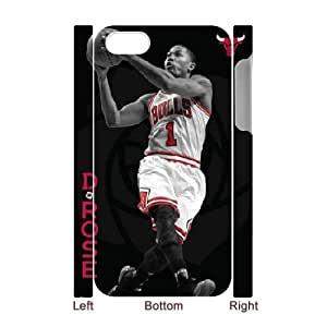 3DDerrick Rose . Chicago Bulls. For Samsung Galaxy S5 Mini Case Cover Cute for Girls, For Samsung Galaxy S5 Mini Case Cover s for Girls [White]