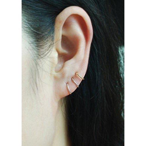 20gauge Sterling Silver Cartilage hoop earring,Best selling item,Helix,Tragus,Ear Lobe,Nose Ring, piercing earring,Tiny Cartilage Ring / price per one item