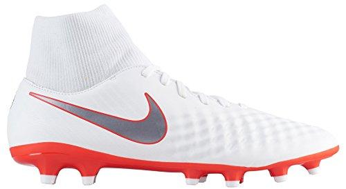 Nike Magista Obra 2 Academy Df Fg Ah7303 107 Fußballschuhe White/Chrome-lt Crimson-ch